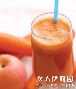 五种蔬果汁 轻松甩掉熊猫眼