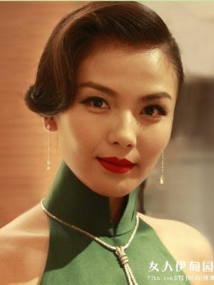 刘涛复出 古典东方美妆