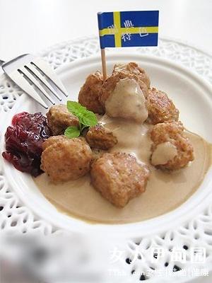 DIY美味瑞典肉丸 三步就搞定