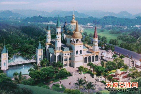 东莞4A景区 龙凤山庄将建成全国最大的皇室古堡
