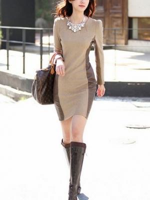 保暖显档次的毛呢裙浪漫的暖给冬天