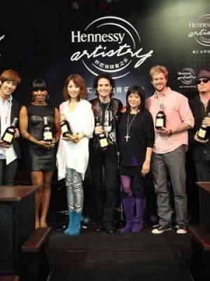 2011轩尼诗炫音之乐广州派对盛典演出