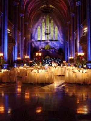 最具特色的烛光婚礼 充满了小资情调