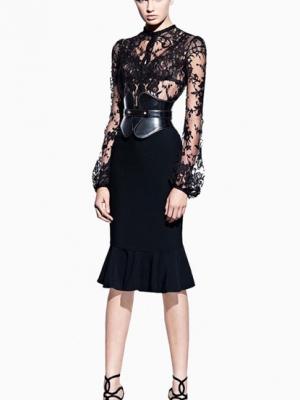 模特真人示范2012春夏系列女装