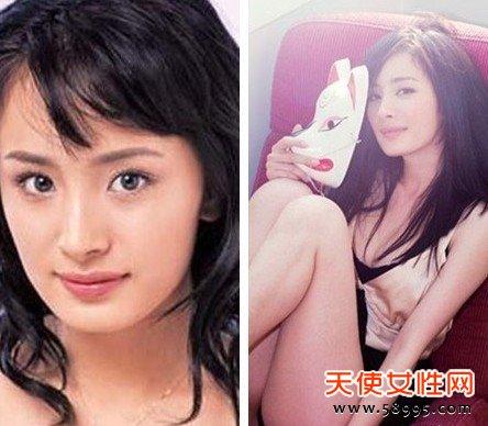 从小就是童星的杨幂,刚出道的时候的外形不讨喜,如今杨幂却拥有者令无数女孩羡慕的完美脸蛋。