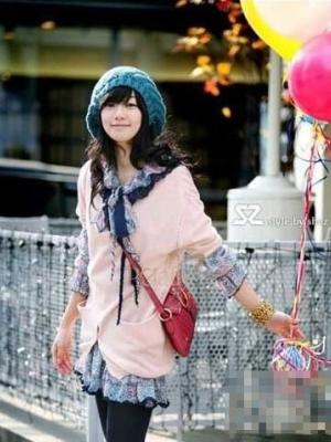 韩国今冬街头最流行的毛线帽