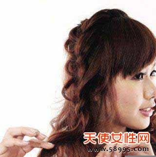 怎样绑好看的头发|怎样用丝带绑头发