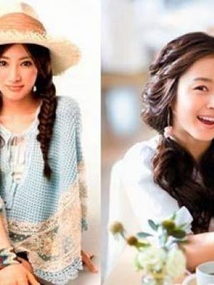 盘点日韩女星靓丽发型大比拼