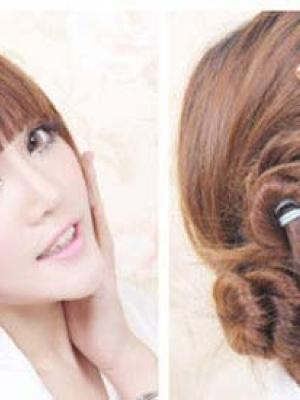 4款甜美发型DIY变氧气美女