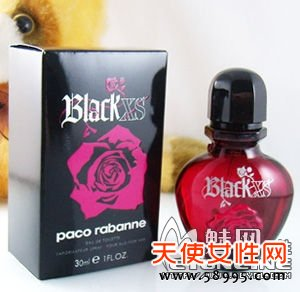 PACO RABANNE Black XS For Her 叛逆公主