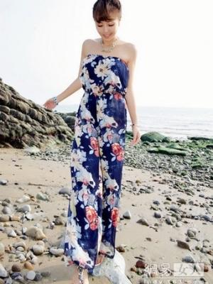 韩版超流行连体裤打造高挑身材