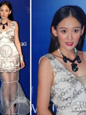 范玮琪张梓琳透视装 新一代邦女郎性感服饰大PK