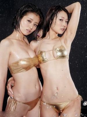清纯系日本美女模特比基尼助阵伦敦奥运会