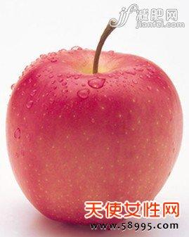 节食减肥天天吃苹果,饿的受不了
