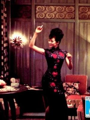 盘点章子怡经典旗袍展现女性韵味和风情