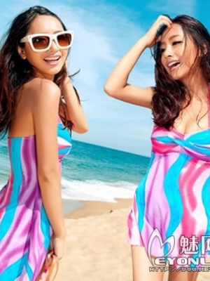 推荐几款飘逸的泳衣,最适合小胸MM