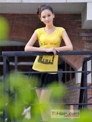 娱乐圈新疆美女发型大PK
