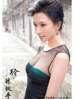 林志玲到雍和宫拍摄年历祈求良缘