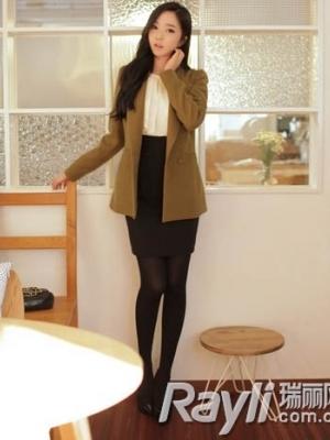 高腰线连身裙高腰A字裙穿出超模般的好身材
