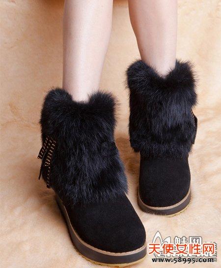 保暖雪地靴 秋冬秀出你的脚底时尚!