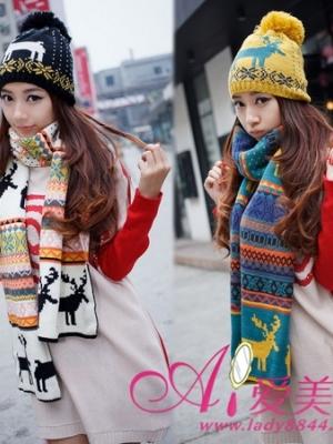 保暖装饰兼备 冬季人气围巾渲染了整个枯燥的季节
