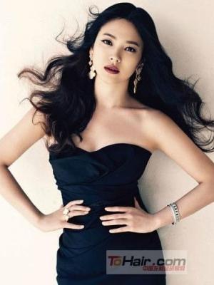 盘点韩剧女王宋慧乔清新妩媚的经典发型