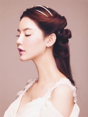 vintage女王范儿的3款复古新娘发型