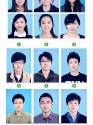 """""""男女审美差异""""游戏 挑选最美学生证件照"""