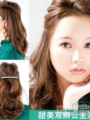 用好发卡发圈 DIY3款简单的发饰mix扎发