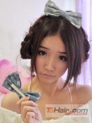 DIY编发:让你轻松打造甜美女生发型