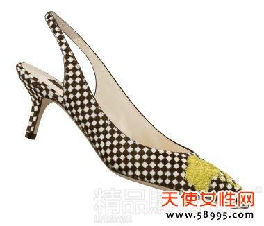 鞋履精选 每周10款 5cm 鞋跟 尖头鞋改打舒适牌